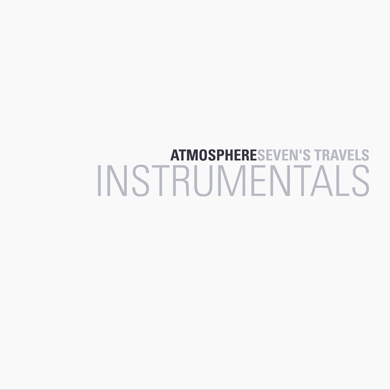 Atmosphere Sevens Travels Instrumentals