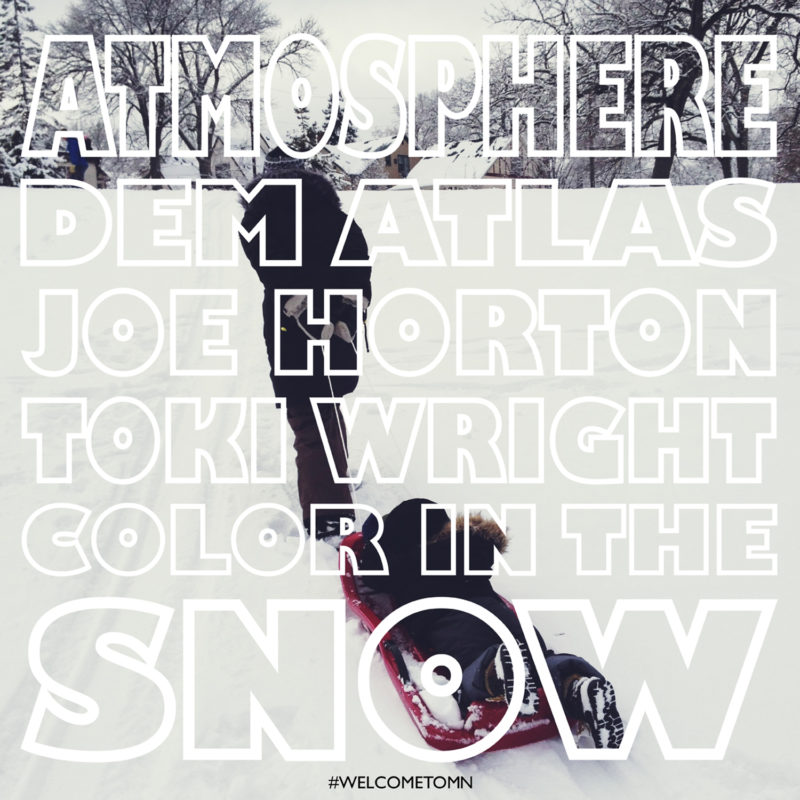 Atmosphere Color In The Snow