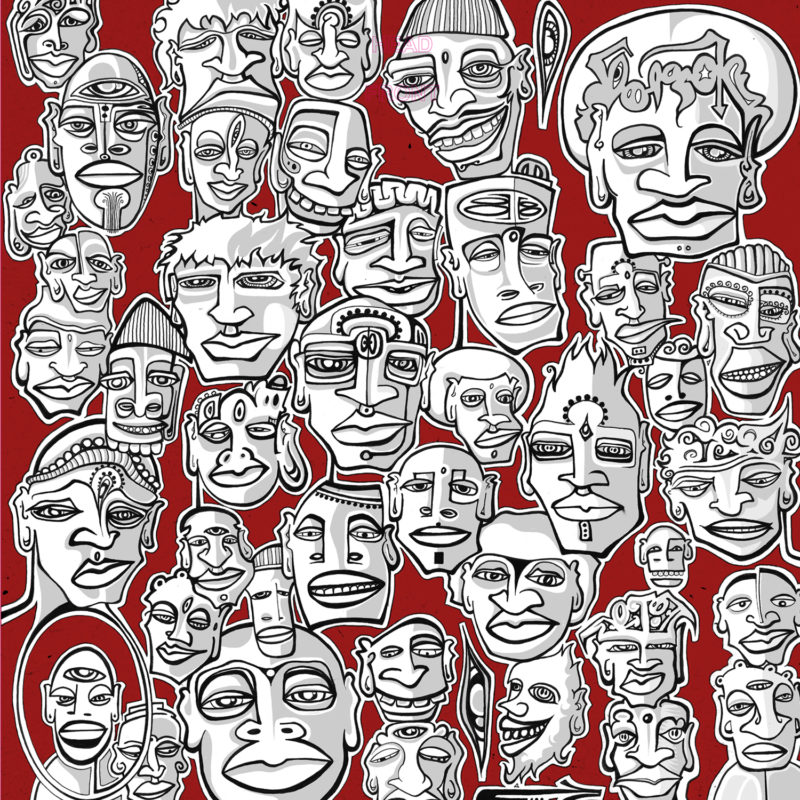 The Many Faces of Oliver Hart (Vinyl)