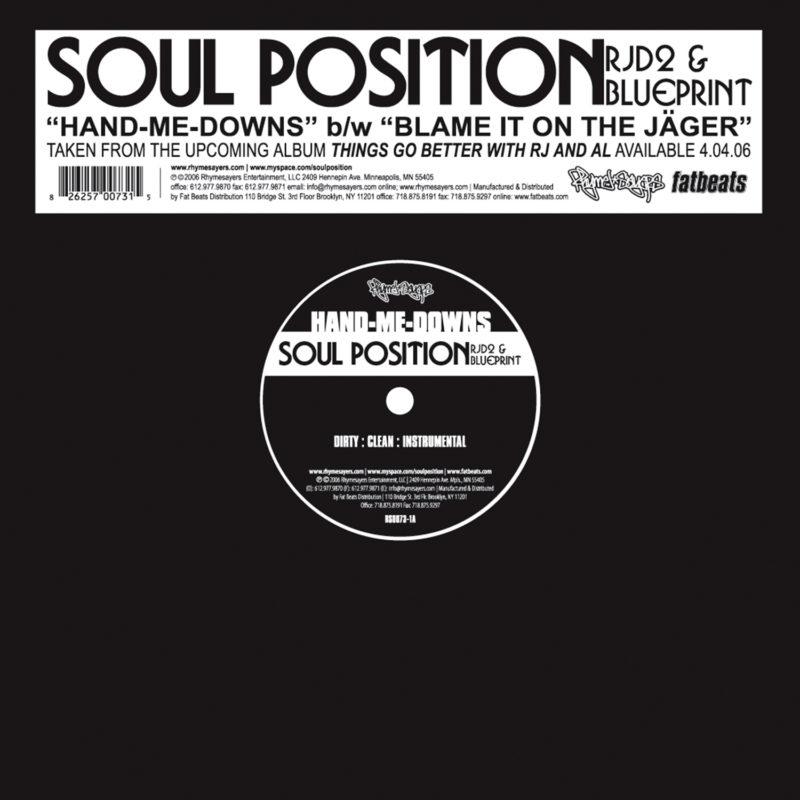 Soul Position Hand Me Downs