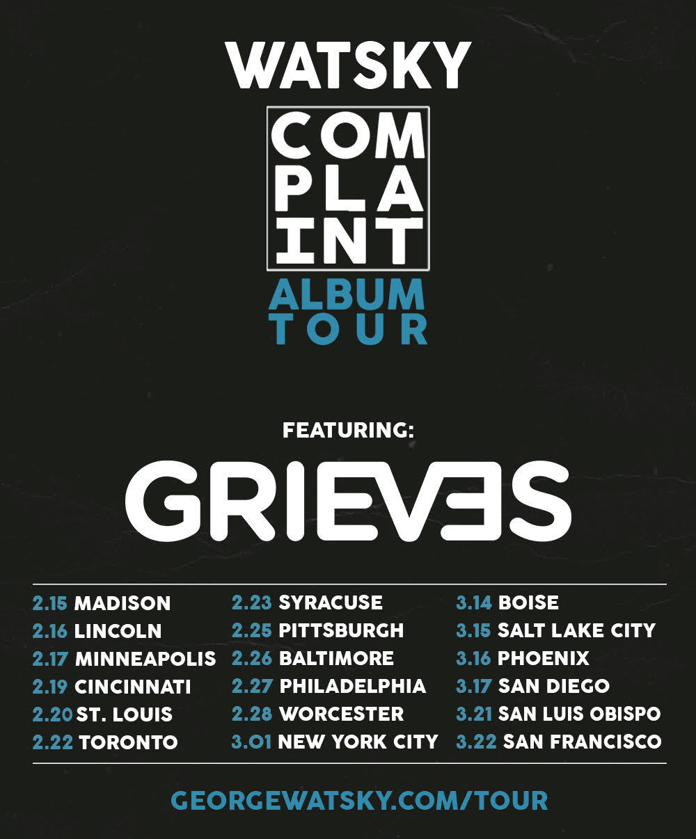 Grieves Support Flyer