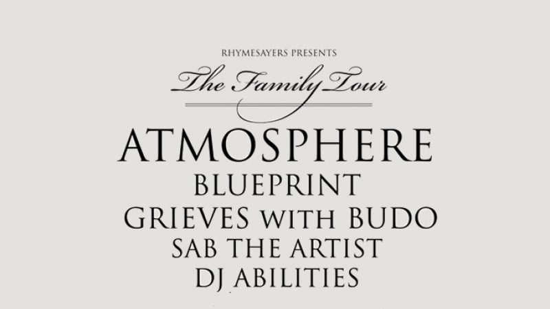 News rhymesayers atmosphere familytour 693 2 malvernweather Gallery