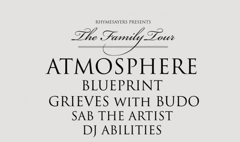 The family tour show in pomona ca is sold out rhymesayers malvernweather Gallery