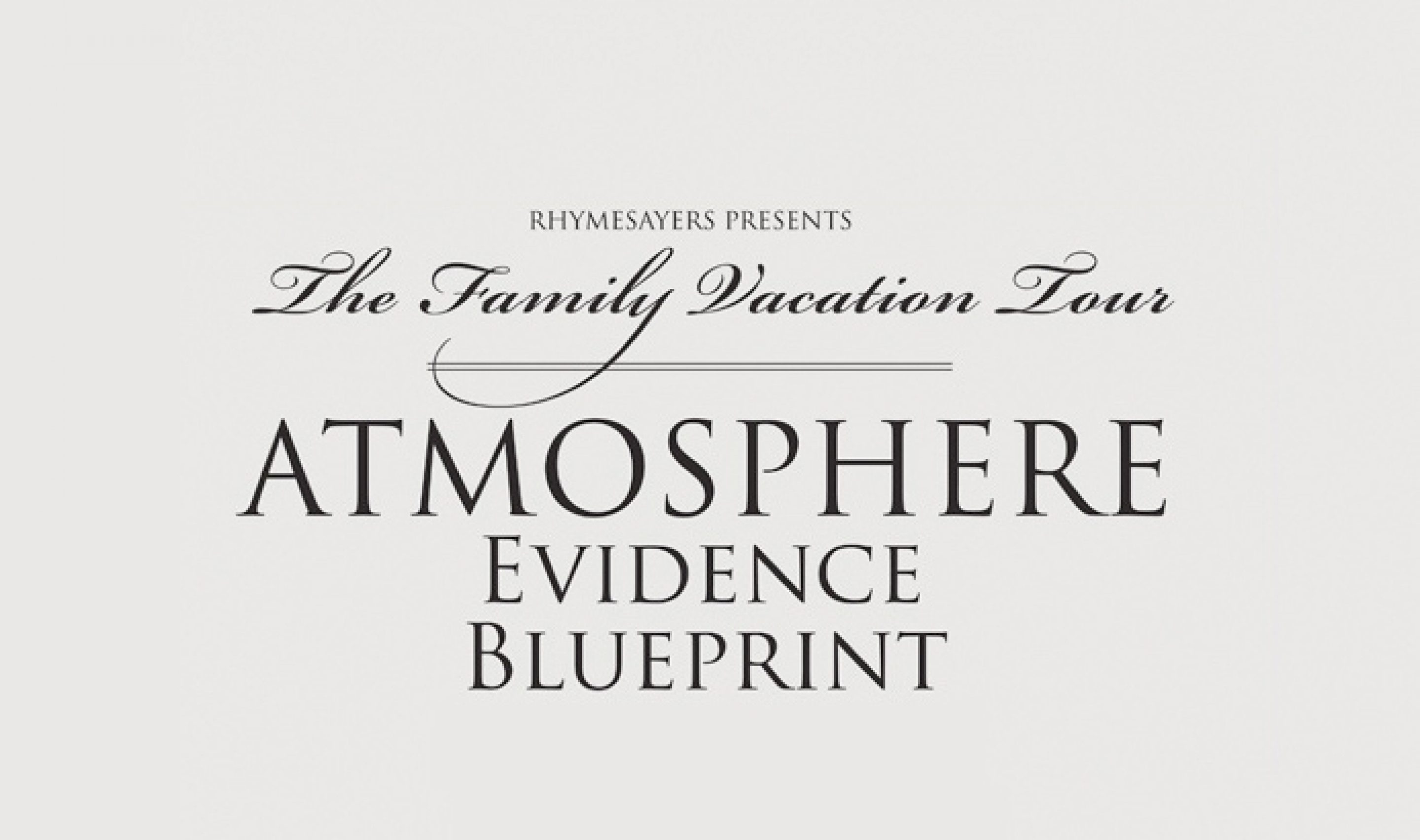 The family vacation tour is in texas for 2 dates rhymesayers the family vacation tour is in texas for 2 dates malvernweather Gallery
