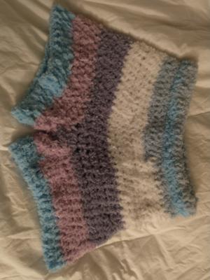 The Comfy Cozy Crochet Shorts