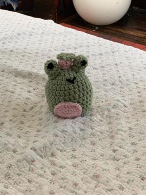 Free Crochet Strawberry Frog Pattern