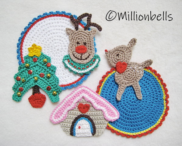 Christmas Tree Applique Xmas