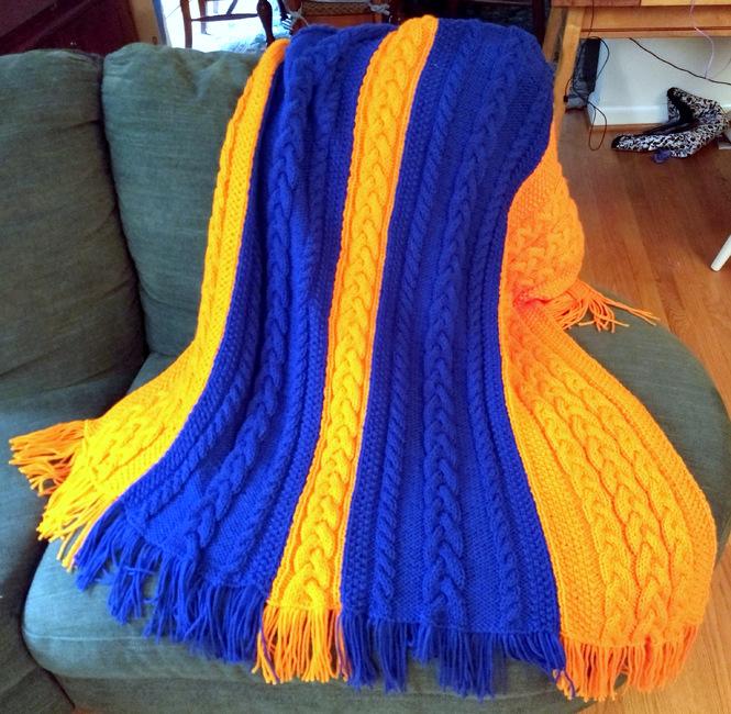 University Rah-Rah Blanket