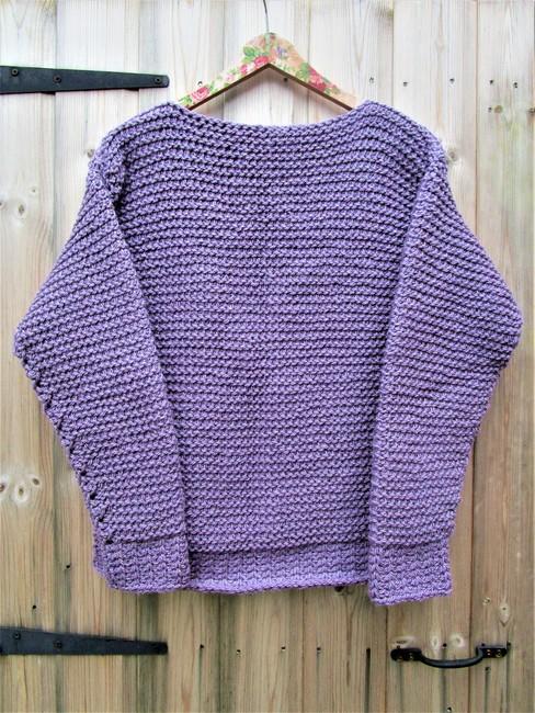Olivia Tunisian Sweater