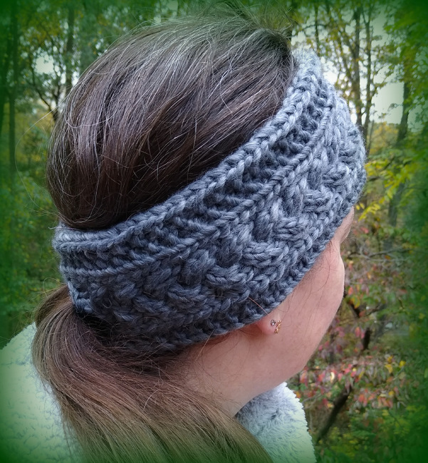 Braided Ponytail Headband