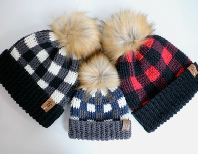 Thermal Buffalo Plaid Toque