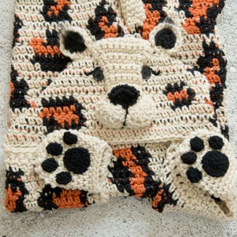Hooded Leopard Blanket