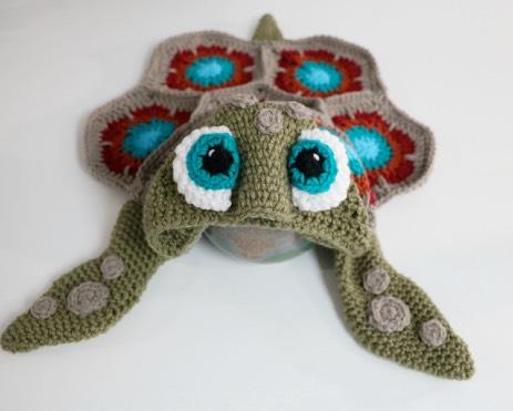 Hooded Sea Turtle Blanket