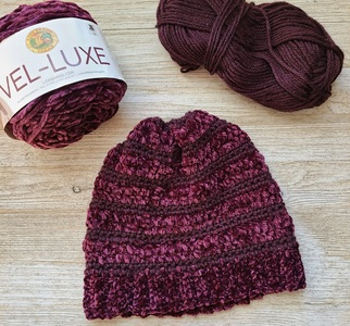 Velvet Crush Slouch