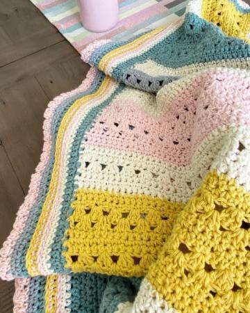 Sweet Posy Blanket
