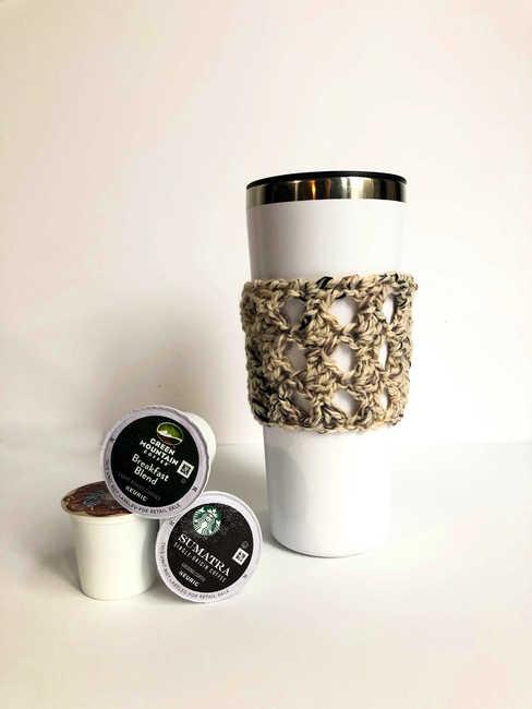 Espresso Chip Coffee Cozy