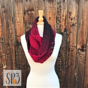 Winter Tracks Scarf / Cowl