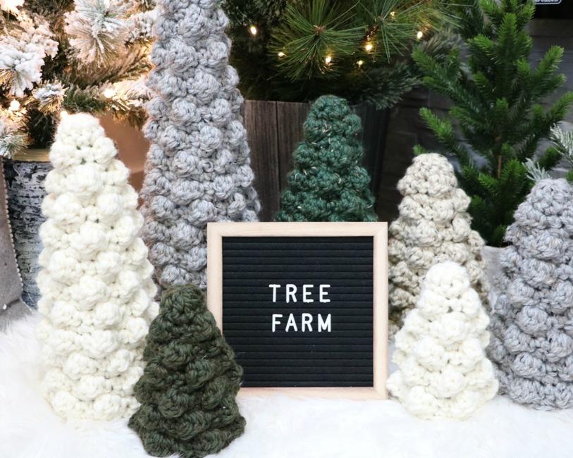 Bobble Tree Sweaters
