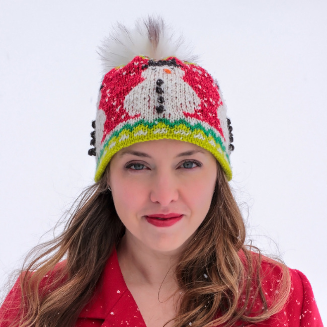 Mr. Frosty Snowman Hat