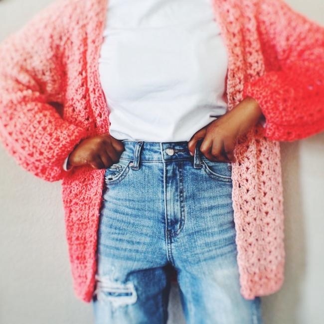 The Morelle Crochet Cardigan