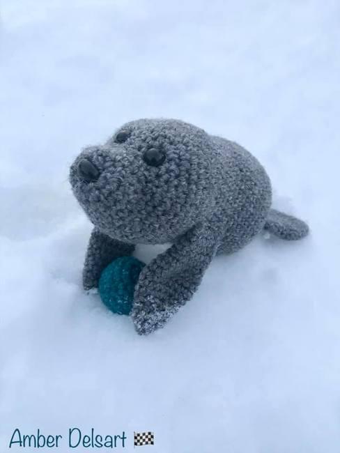 Seal Stuffie