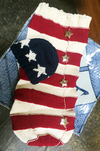 Star Spangled Swaddle and Hat