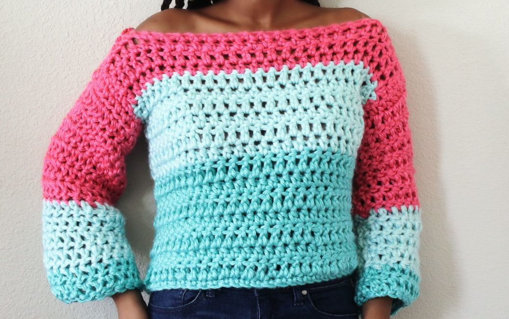 The Olred Crochet Sweater