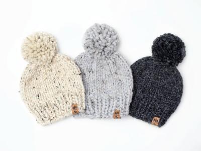 Solid Winter Pompom Hat(copy)