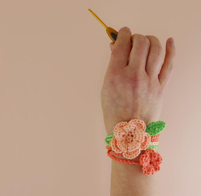 Floral Wrist Wraps