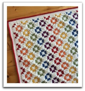 Spin Your Granny Square Blanket