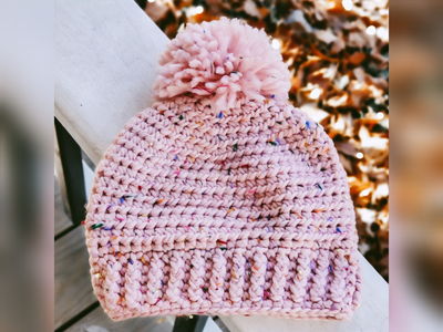 Bubblegum Ice Cream Beanie