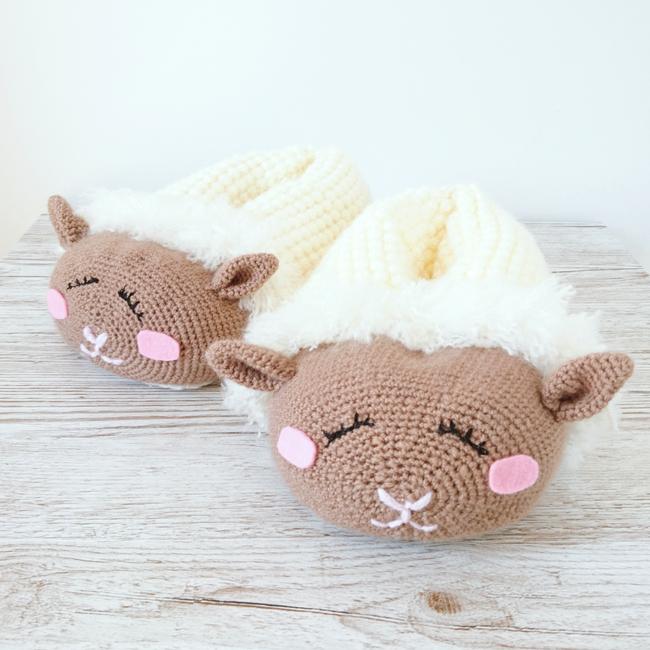 Sleepy Sheep Slippers