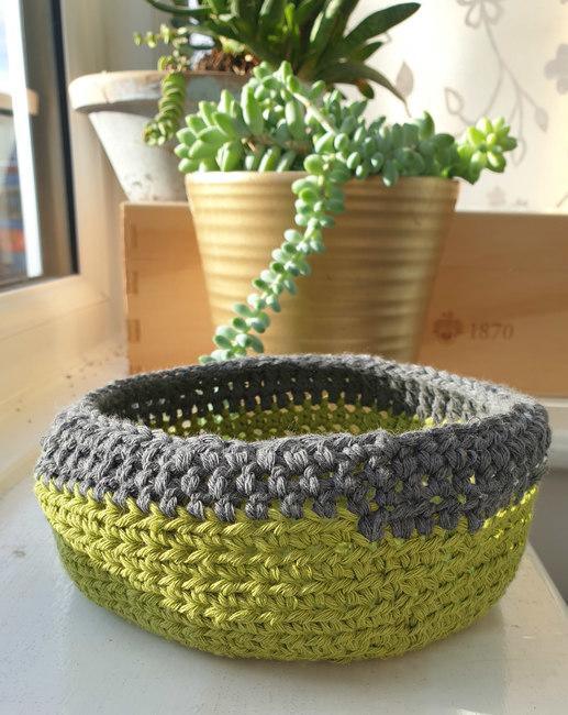 Fierloz crochet basket