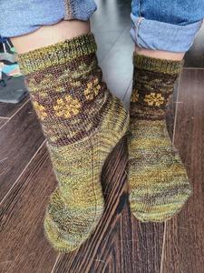 Floral Laurel Socks