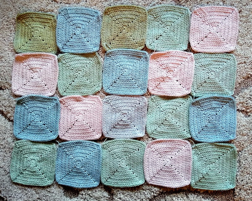 Cornerstone Square Blanket
