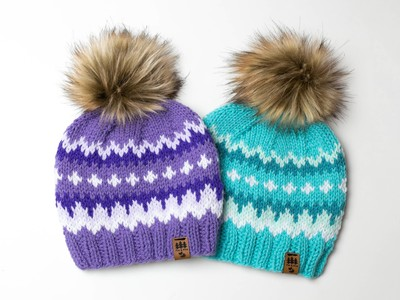 Colorful Bernie Mittens Inspired Hat