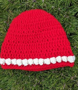 Lines and bumps hat