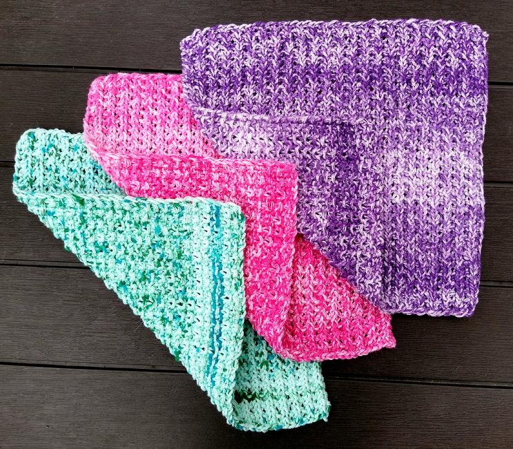 Ribby-Do Washcloths