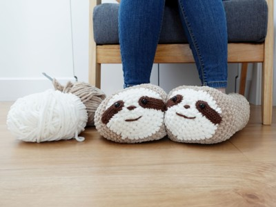 Chunky Sloth Slippers