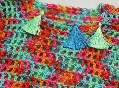 The Beach Stars Crochet Top