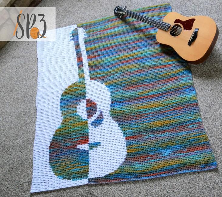 Grandioso Guitar Blanket