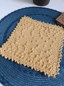 The Picot Branches Dishcloth