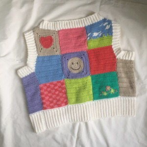 patchwork vest pattern