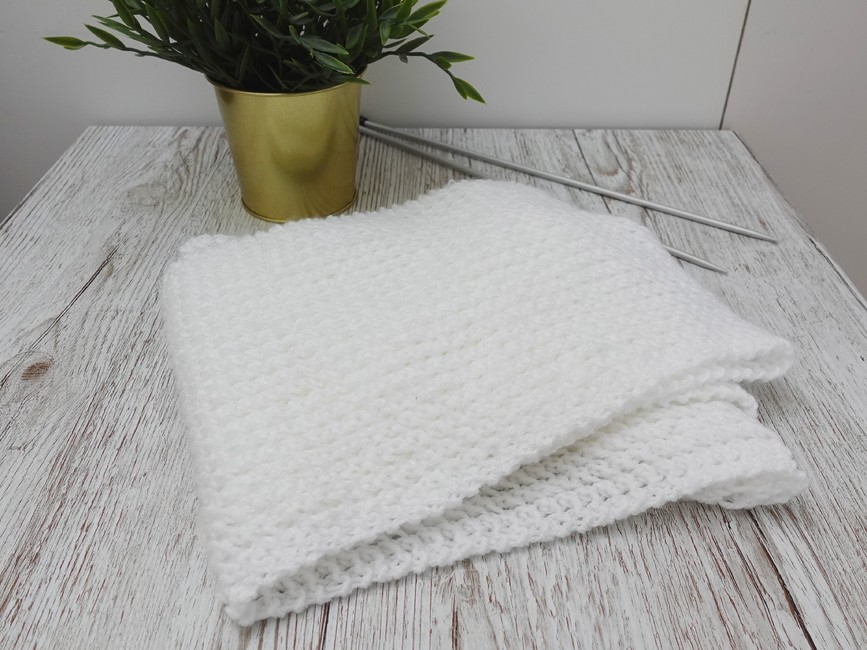Lacy one-row Scarf