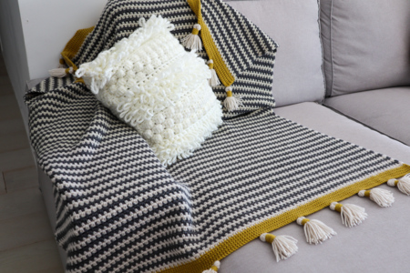 Boho Stripes Blanket