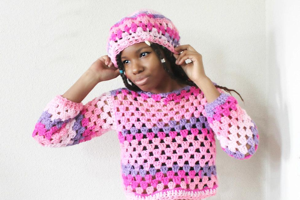 The Lyrelle Crochet Top.