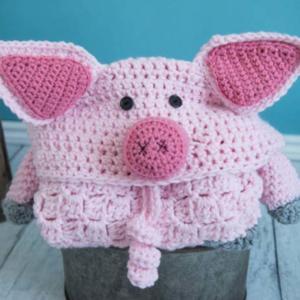 Hooded Pig Blanket