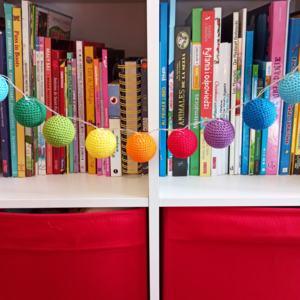 Crochet Cotton Balls Lights