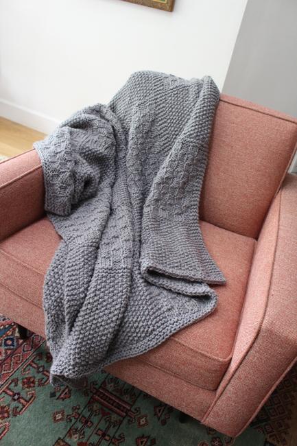 Patchwork Throw Blanket
