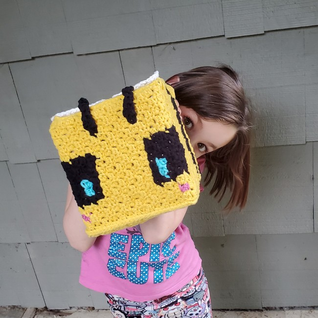 Cubee - C2C Stuffed Animal